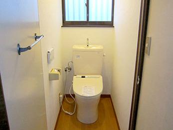 綺麗で新しいトイレになって大変満足しています。