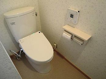 清潔なトイレになり大満足です。本当にありがとうございました。